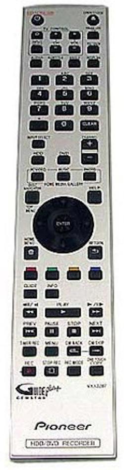 Fjärrkontroll VXX3287