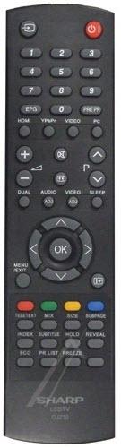Sharp Fjärrkontroll 9JR9800000003