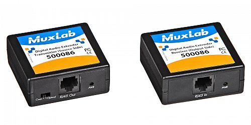 Muxlab Digital Audio Extender KIT