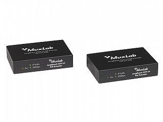 Muxlab LongReach CCTV IP PoE Extender Kit 1 km