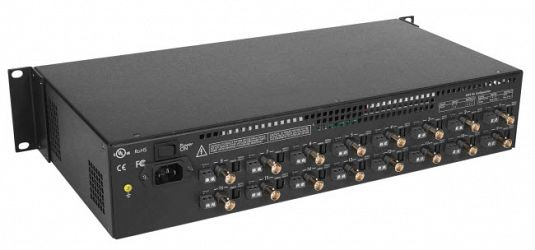 Muxlab Passiv CCTV Power Integrator Hub 16 kanaler