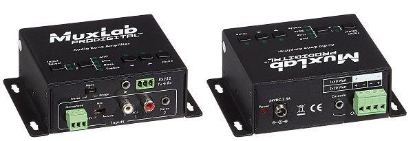 Muxlab Audio zone Amplifier ( Ljudzons förstärkare )