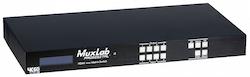 HDMI 4x4 Matrisväxel UHD-4K@60Hz, HDCP2.2