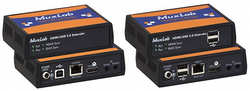 HDMI & USB 2.0 extender kit, HDBT, 4K60