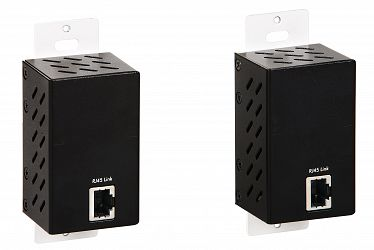 Muxlab HDMI Wallplate sändare, HDBT, UHD-4K, Decora