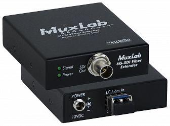 Muxlab 6G-SDI Fiber förlängningskit, 20km