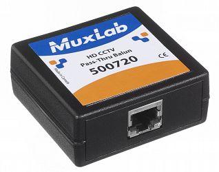 Muxlab HD CCTV Pass-Thru Balun