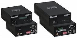 Audio / AMP över IP med mic & 50W/kanal