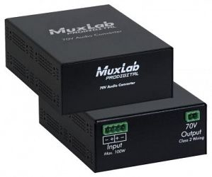 Muxlab 70V Audio konverter
