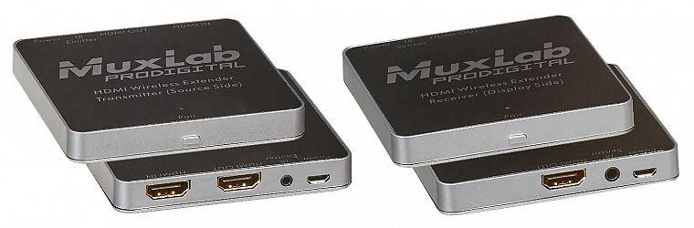 Muxlab Trådlöst HDMI 30m, H.264, 1080p, KIT