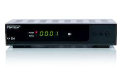 AX300 HD Satellitbox för fria kanaler DVB-S2, HDMI