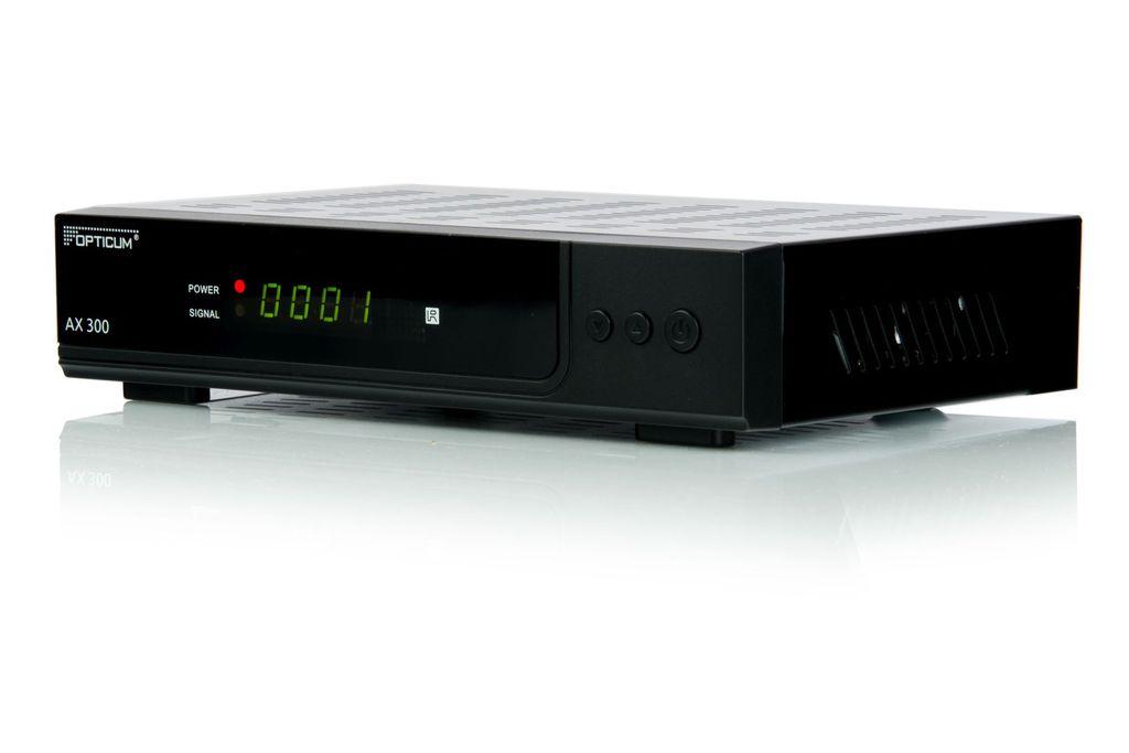 Opticum AX300 HD Satellitbox för fria kanaler DVB-S2, HDMI