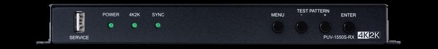 CYP/// Full HDBaseT Mottagare med Scaler, 4K, PoH, LAN