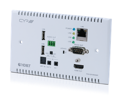 HDBaseT 2.0 WP Mottagare, 4K2K, HDCP 2.2, USB