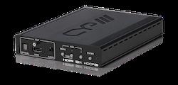 PC/HDMI till HDMI Scaler, 4K, Audio deembedd