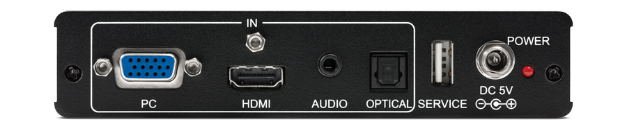 CYP/// PC/HDMI till HDMI Scaler, 4K, Audio deembedd