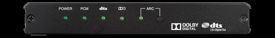 CYP/// Audio Converter & De-Embedder, DD/DTS, 4K, HDCP2.2