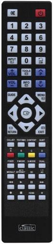 Sharp Ersättnings Fjärrkontroll RRMCGA608WJSA
