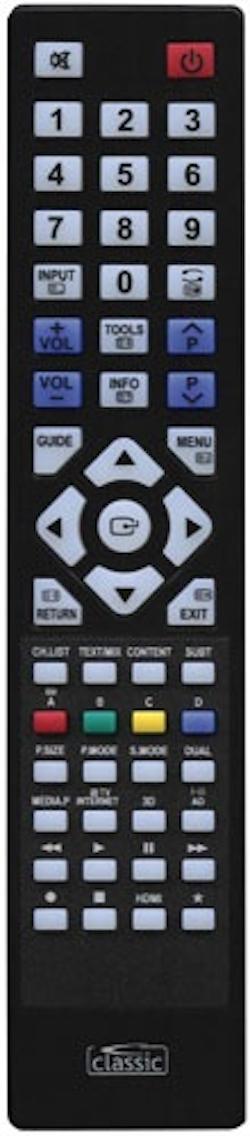 Ersättnings Fjärrkontroll RRMCGA608WJSA