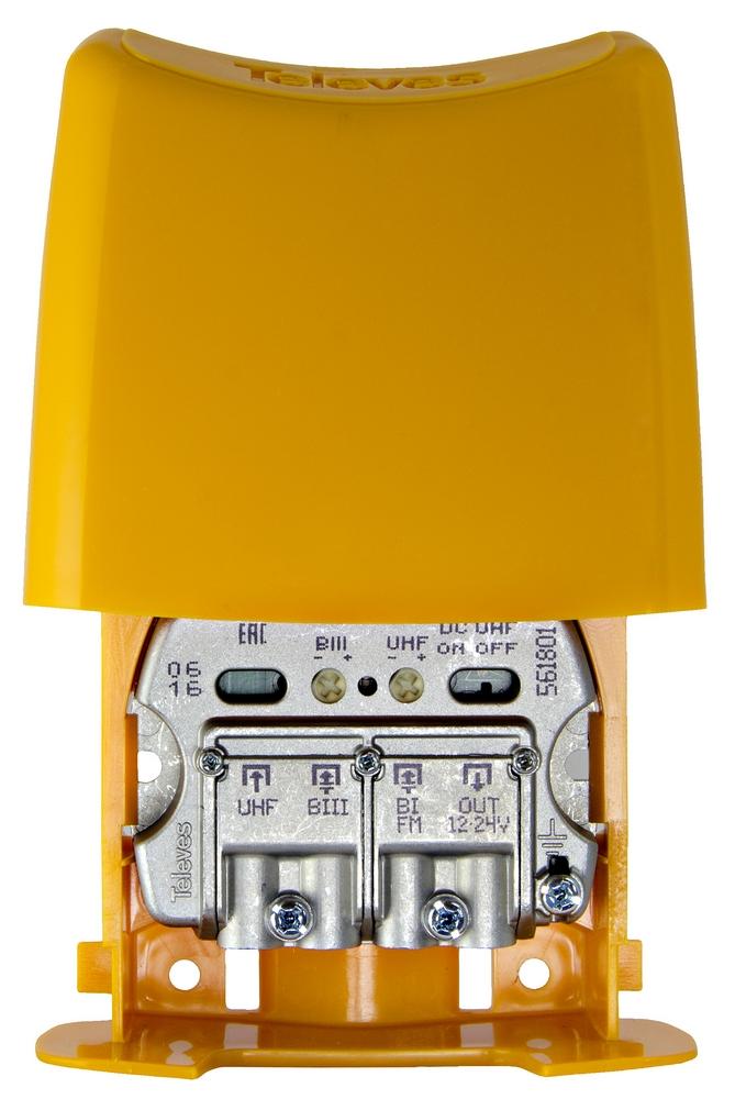 Televés NanoKom 3 in UHF (DC-pass) / VHF / FM LTE