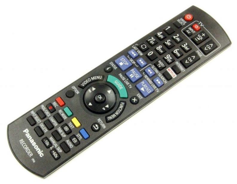 Panasonic Fjärrkontroll N2QAYB001046