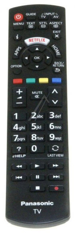 Panasonic Fjärrkontroll N2QAYB001009