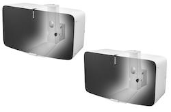 Väggfäste för Sonos Play:5 MKII Vit Horisontell 2 Pack