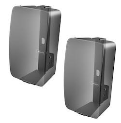 Väggfäste för Sonos Play:5 MKII Svart Vertikal 2 Pack