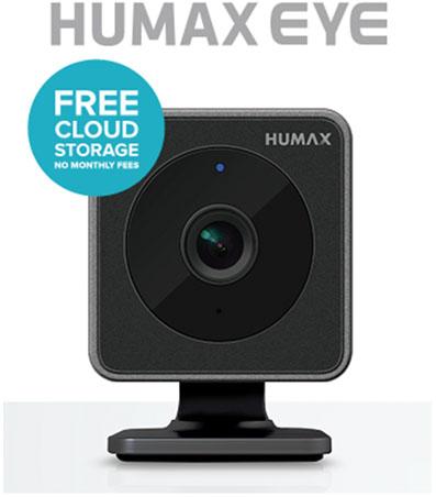 Humax Eye Övervakningskamera med molnlagring