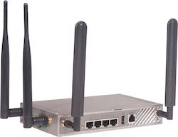 Industrirouter med 4G redundans, wifi  och 4 LAN portar