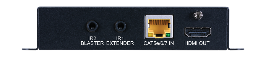 CYP/// HDBaseT mottagare, 4K, HDR, 5Play, AVLC