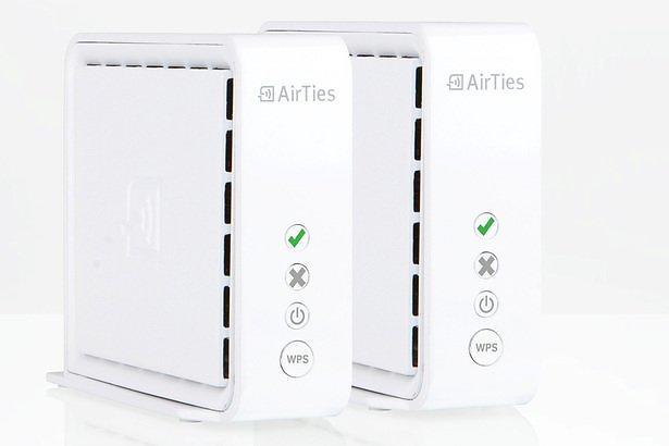 AirTies Trådlös brygga / accesspunkt för IP-TV / Nätverk KIT med 2st