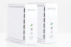 Trådlös brygga / accesspunkt för IP-TV / Nätverk KIT med 2st