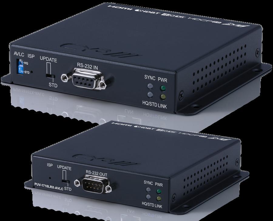 CYP/// HDBaseT Lite Kit, 4K, HDR, PoH, AVLC, 70m