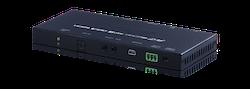 HDBaseT mottagare, 4K@60Hz, HDR, PoH, AVLC, OAR, 100Mbit/s data
