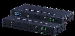 HDBaseT KIT, 4K@60Hz, HDR, PoH, AVLC, OAR, 100Mbit/s data