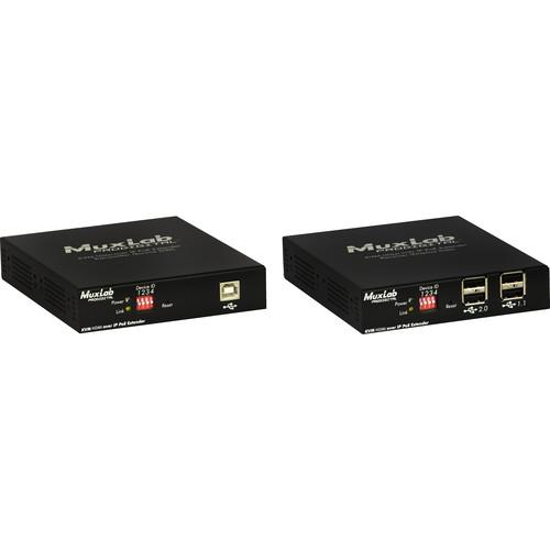 Muxlab KVM HDMI över IP, PoE, Förlängningskit