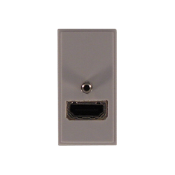Modul HDMI liggande med skruv