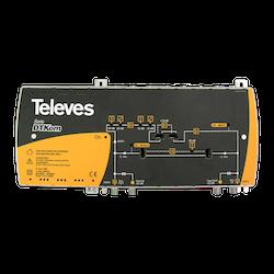 DTKom bredbandssförstärkare 30-40 dB 1in 1 ut. Comhem