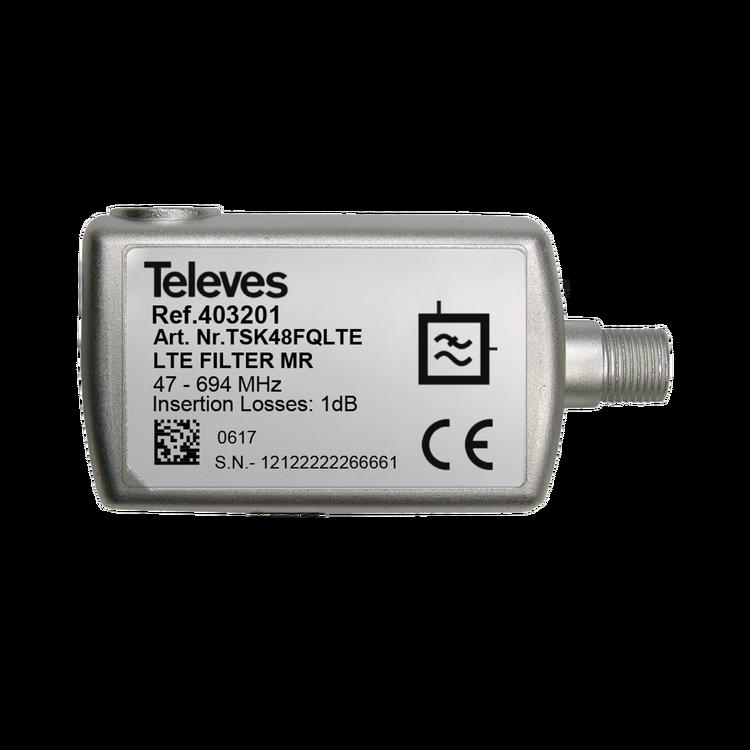 Televés TSK48FQLTE LTE/4G/GSM filter mot störningar 694Mhz