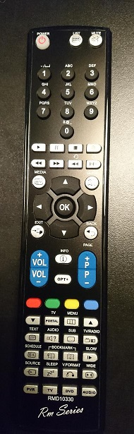 Sony Ersättnings Fjärrkontroll RM-ED034