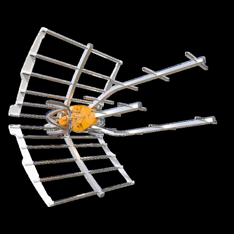 Televés Ellipse UHF 38dB förstärkning inkl. nätdel