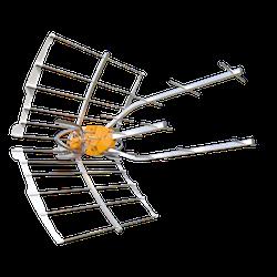 Ellipse UHF 38dB förstärkning inkl. nätdel