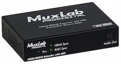 HDMI/RS-232 HDBaseT Extender kit med ARC, 4K UHD