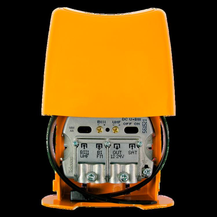 NanoKom 3 in, Kombi (UHF & VHF) / FM / SAT auto-LTE
