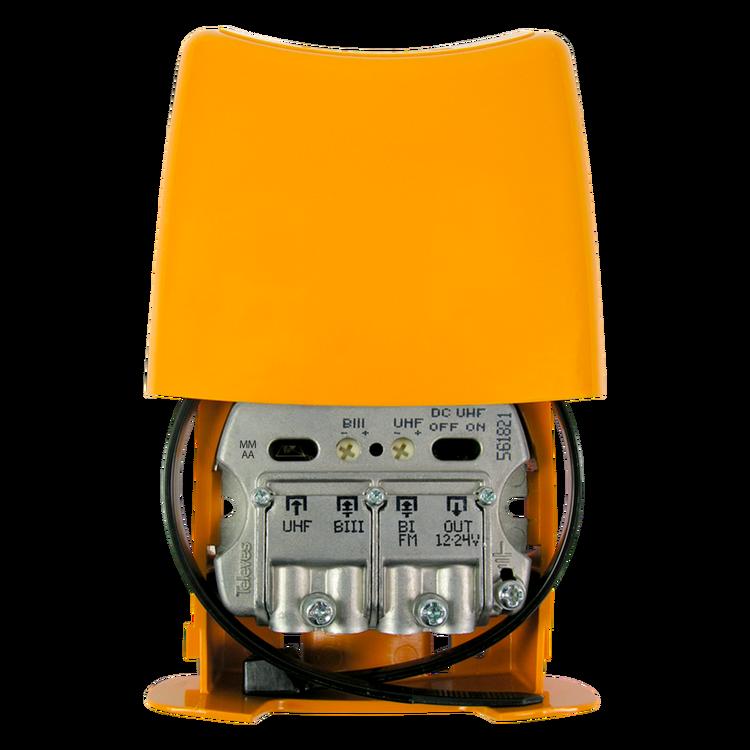 NanoKom 3 in, UHF (DC-pass) / VHF / FM auto-LTE