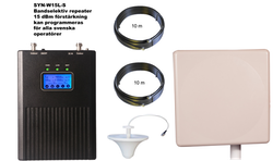 3G repeaterpaket med en inomhusantenn