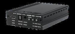 HDMI till HDMI scaler med (De)+Embedding av ljud