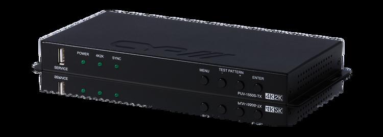 Full HDBaseT Sändare med Scaler, 4K