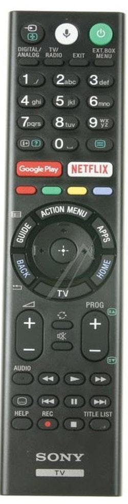 Fjärrkontroll RMF-TX310E